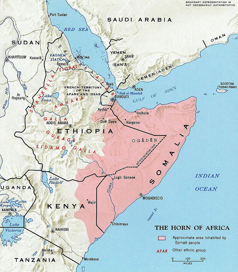 A moment in history: the superpowers and the Ogaden War